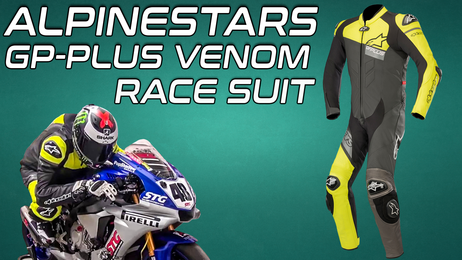 Alpinestars GP Plus Venom Race Suit