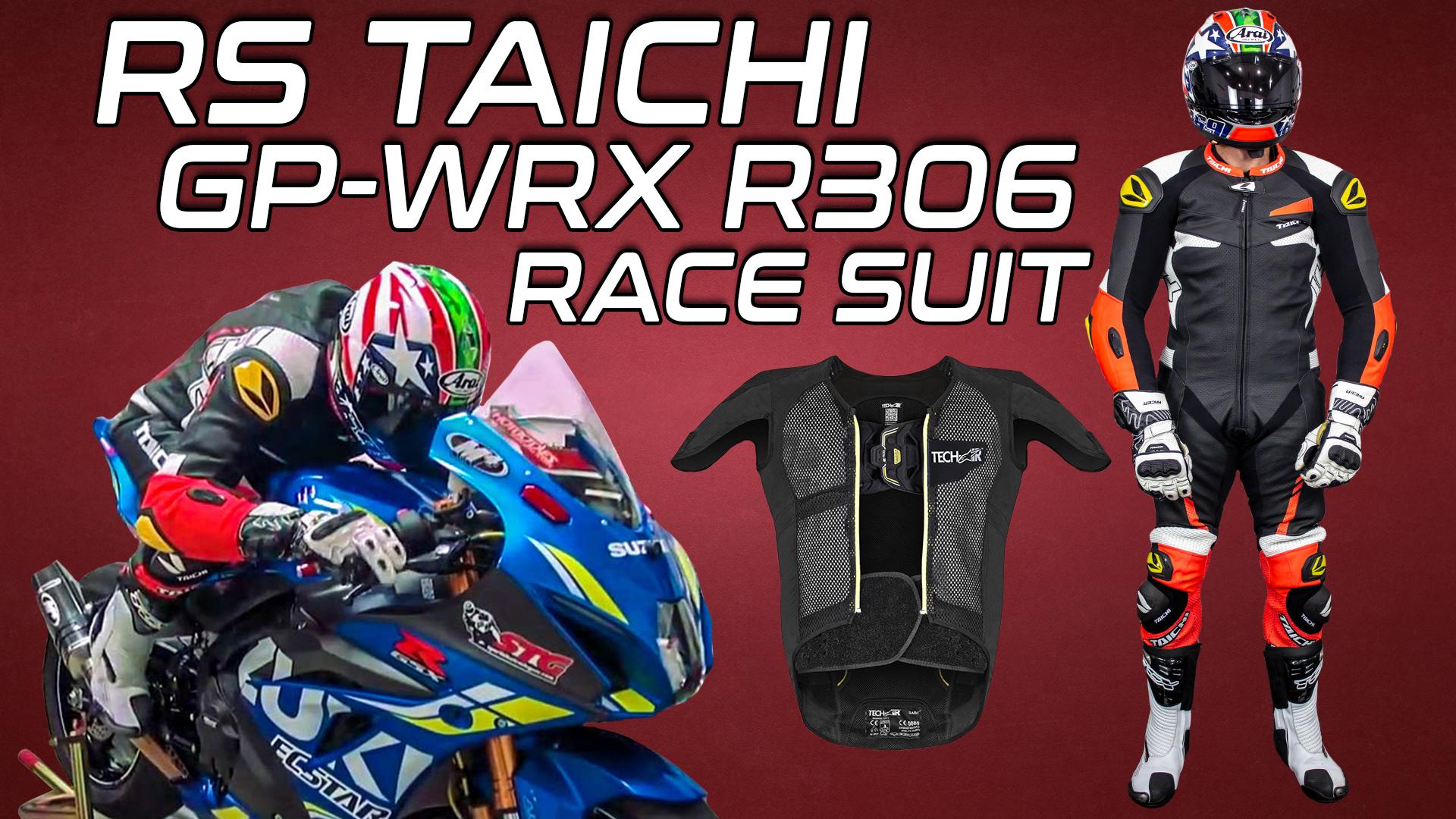 RS Taichi GP-WRX R306 Race Suit Tech-Air Compatible