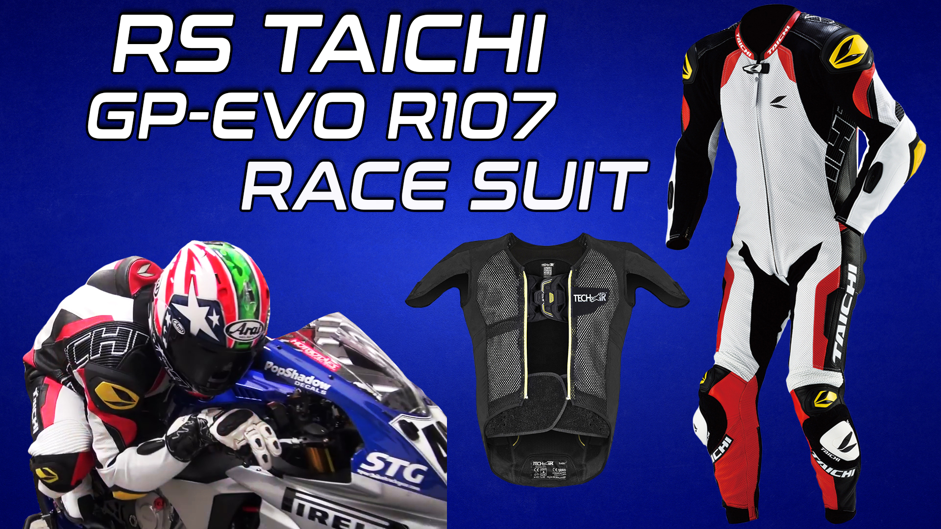 RS Taichi GP-EVO R107 Race Suit Tech-Air Compatible