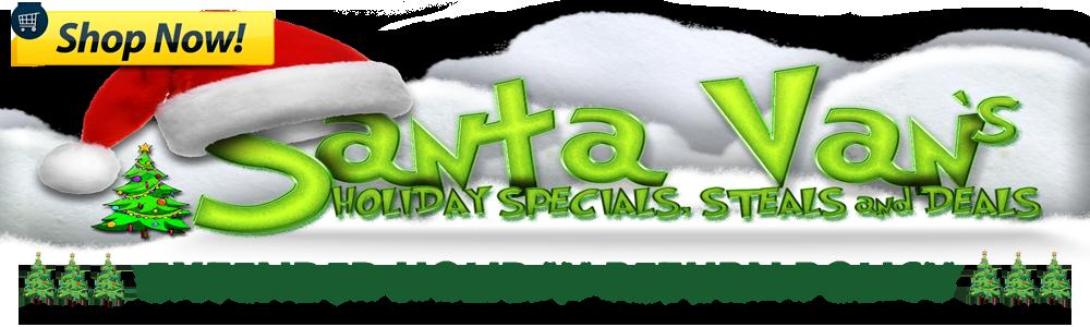 Santa Van's Holiday Steals and Deals