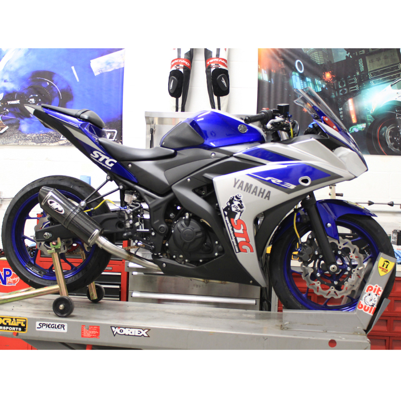 Full Motorcycle Helmet >> 2015-2018 Yamaha R3 M4 Full Exhaust System
