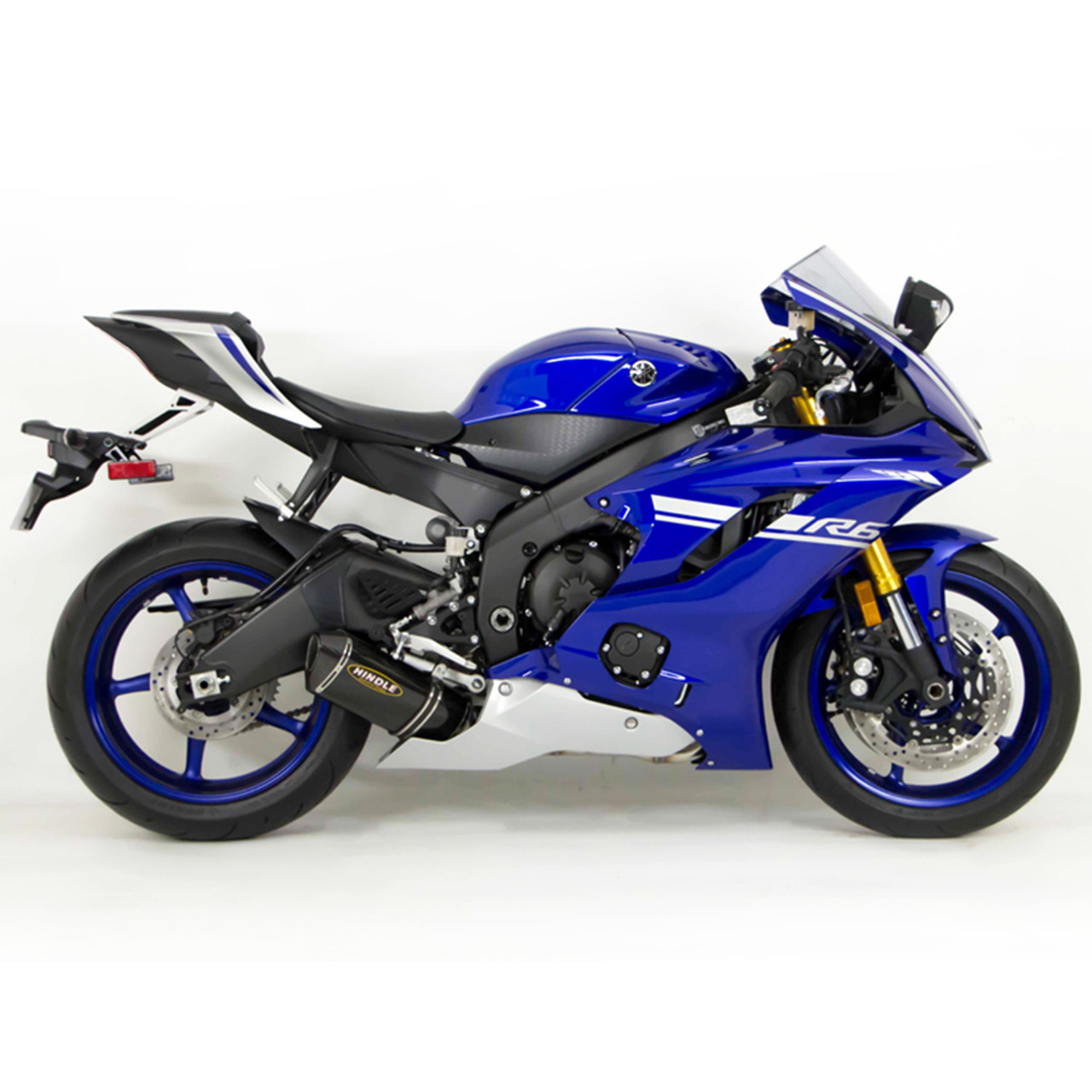 Hindle evolution full exhaust system yamaha r6 2006 2018 for Best exhaust system for yamaha r6