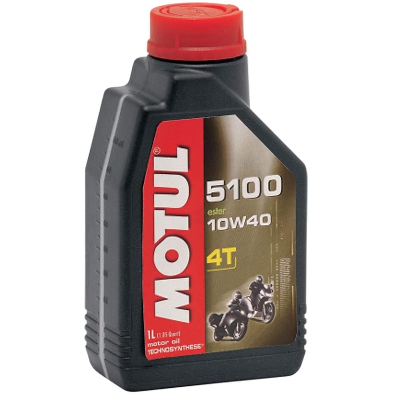 motul 5100 10w40 synthetic blend motorcycle oil sportbike track gear. Black Bedroom Furniture Sets. Home Design Ideas
