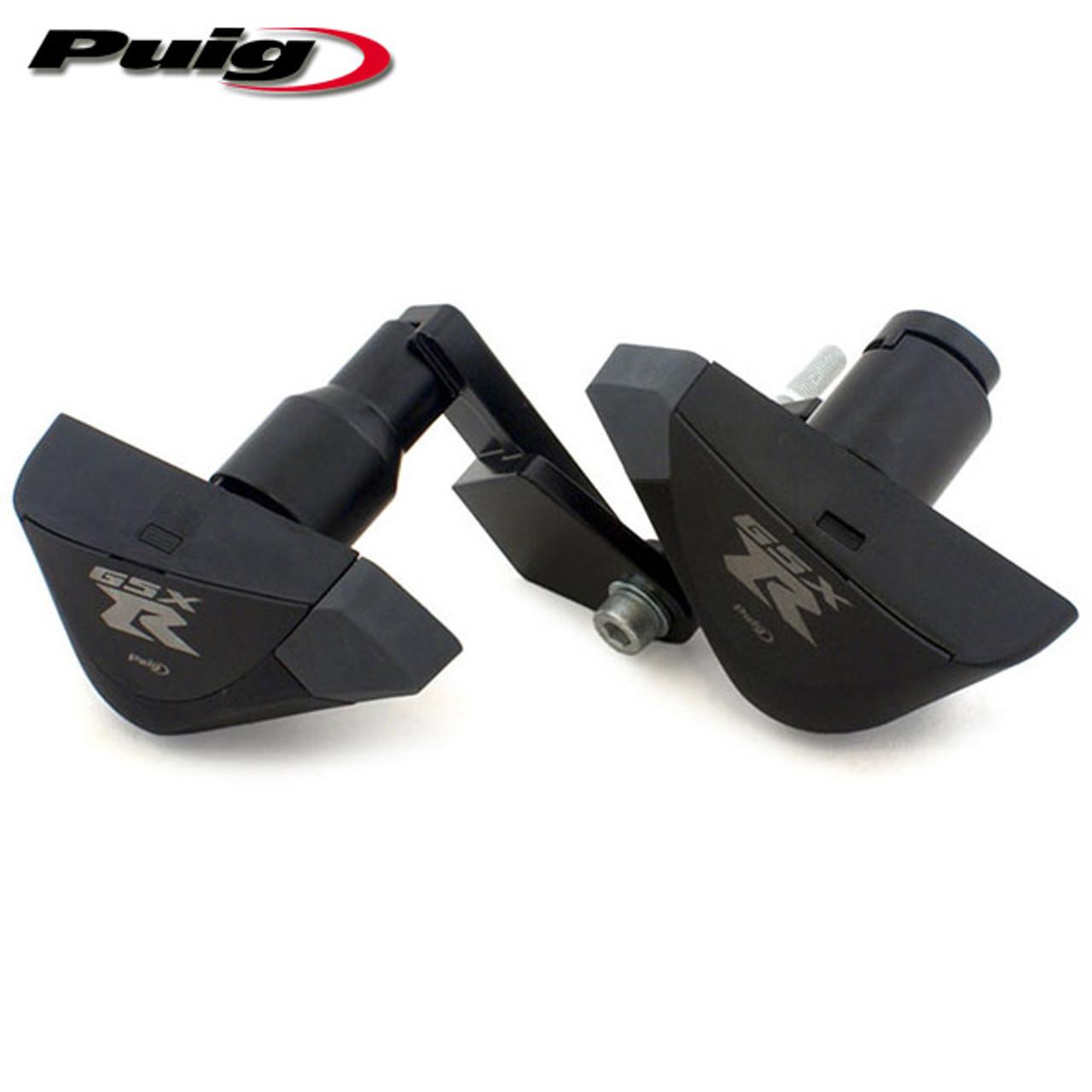 Puig PRO Frame Sliders Suzuki GSXR600/750 08-10 - Sportbike Track Gear