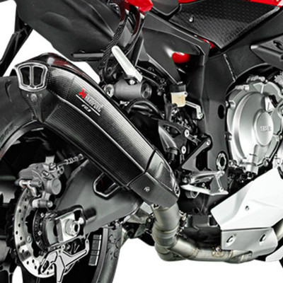 Akrapovic Yamaha YZF R1 15 18 Evolution Line Full Exhaust With Carbon Canister