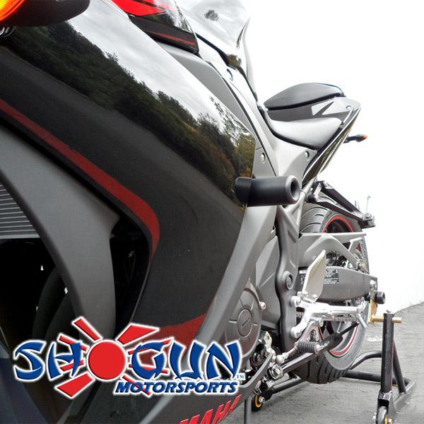 Shogun Yamaha R3 2015-2018 No Fairing Mod Frame Sliders