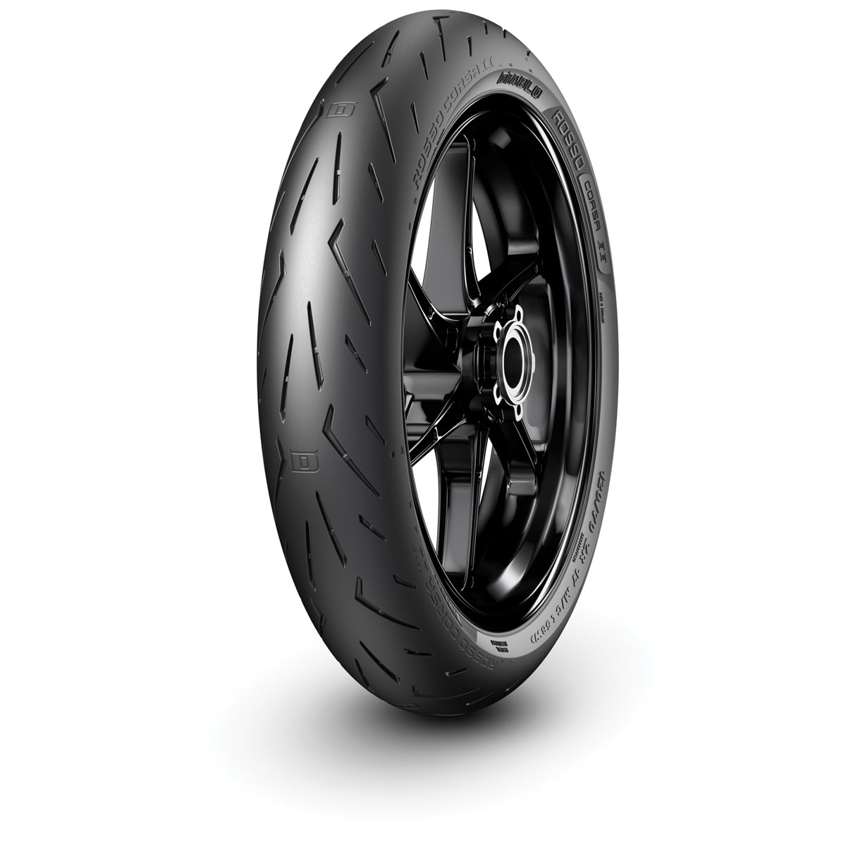 pirelli diablo rosso corsa ii front tires 120 70zr17. Black Bedroom Furniture Sets. Home Design Ideas