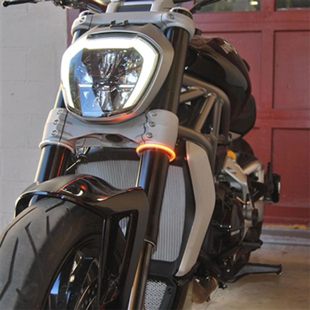 New Rage Cycles Rage360 Universal Led Turn Signals Sportbike Track