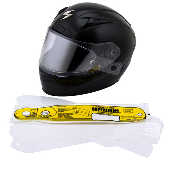 scorpion exo r2000 r710 r410 helmet shield tear offs
