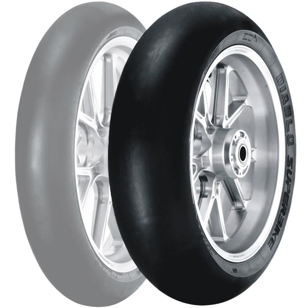Pirelli Diablo Superbike Slick Rear Tires Sportbike