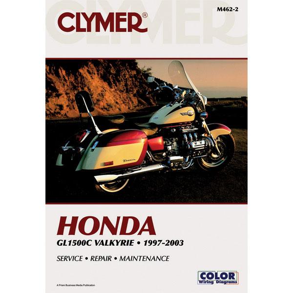 clymer honda gl1500c valkyrie 97 03 service manual sportbike track rh sportbiketrackgear com Honda 90 Ignition Wiring Diagram Honda Passport Ignition Wiring Diagram