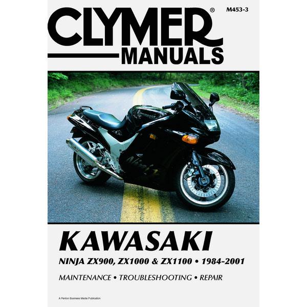clymer kawasaki ninja zx900 zx1000 zx1100 84 01 service manual rh sportbiketrackgear com 1992 Kawasaki Ninja 900 1994 Kawasaki Ninja 900