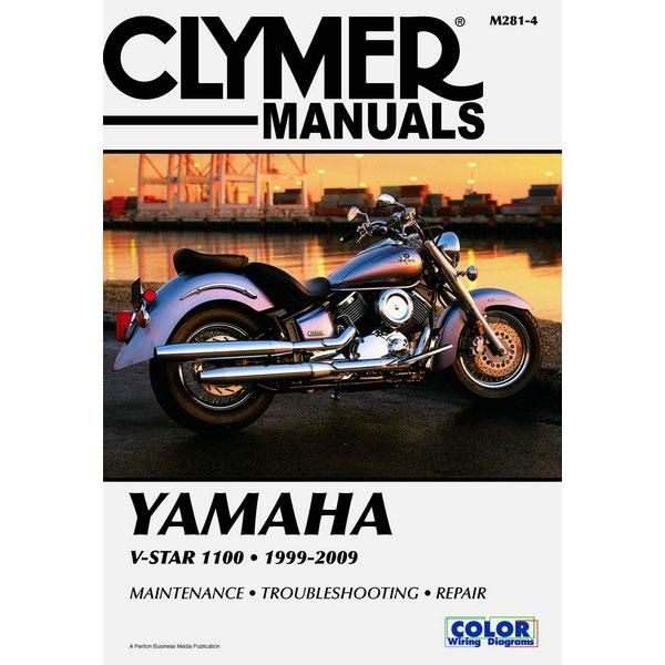 clymer yamaha v star 1100 99 09 service manual sportbike track gear rh sportbiketrackgear com yamaha v star 1100 service manual pdf yamaha v star 1100 repair manual