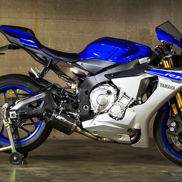 M4 Yamaha Yzfr1 1518 Street Slayer Slip On Exhaust Carbon Canister: 2015 R1 Exhaust At Woreks.co