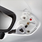 Arai Corsair X Bracket VAS Shield Mechanism