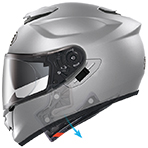 Shoei GT-Air Solid Helmet Emergency Quick Release System (E.Q.R.S)