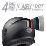 Shoei RF-1200 Flagger Helmet Multi-Ply Matrix AIM+ Shell