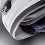 Arai Defiant-X Carr Fixed Chin Curtain