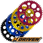 Driven 520 7075 T-6 Aluminum Rear Sprocket