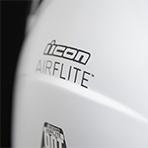 Icon Airflite Inky Helmet Exterior