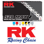 RK Chain MAX-Z RX-Ring 520 Chain