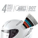 Shoei X-14 Bradley Helmet Multi-Ply Matrix AIM+ Shell