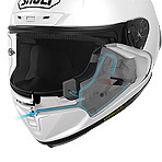 Shoei X-14 Lawson Helmet Ventilated Cheek Pads