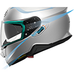Shoei GT-Air II Solid Helmet Aerodynamics & Noise-Reduction