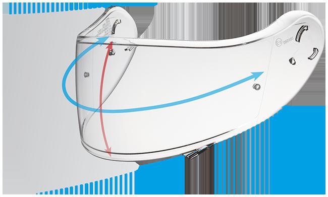 Shoei Neotec II CNS-3 Shield