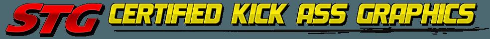 Certified Kick Ass Helmet Graphics