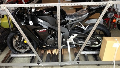 2014 STG Honda CBR1000RR Project Bike In The Crate