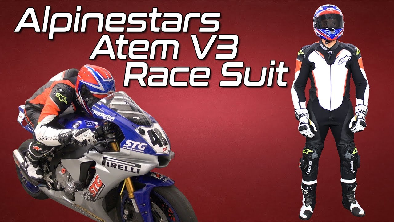 Alpinestars Atem V3 One Piece Leather Race Suit