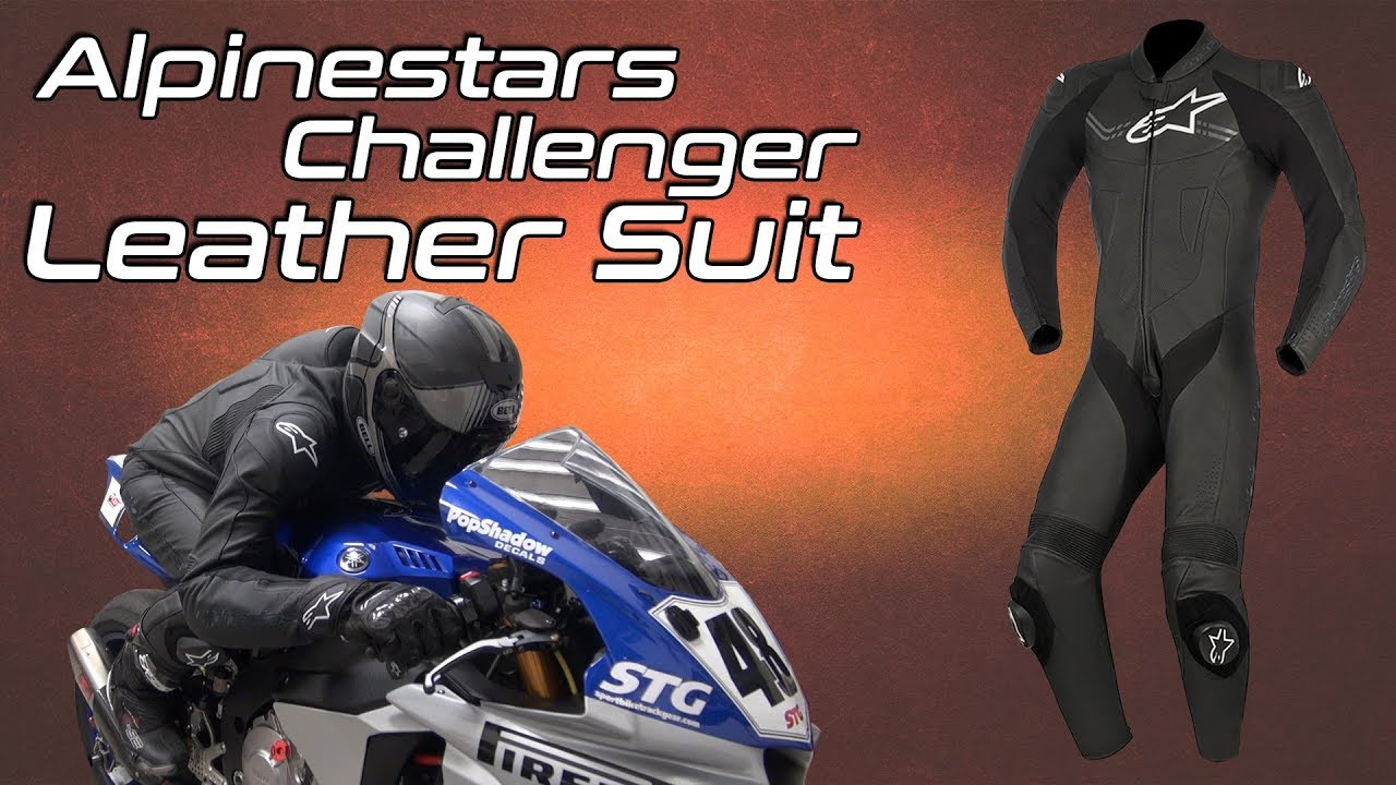Alpinestars Challenger V2 Leather Race Suit