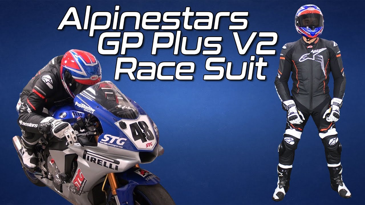 Alpinestars GP Plus V2 One Piece Leather Race Suit