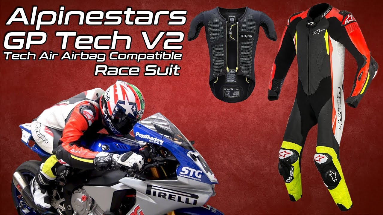 Alpinestars GP Tech V2 Leather Race Suit Tech-Air Race Compatible