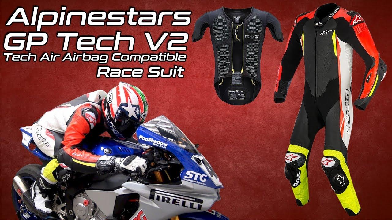Alpinestars GP Tech V2 Leather Race Suit Tech-Air Race Compatible