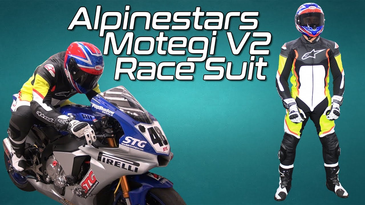 Alpinestars Motegi V2 One Piece Leather Race Suit
