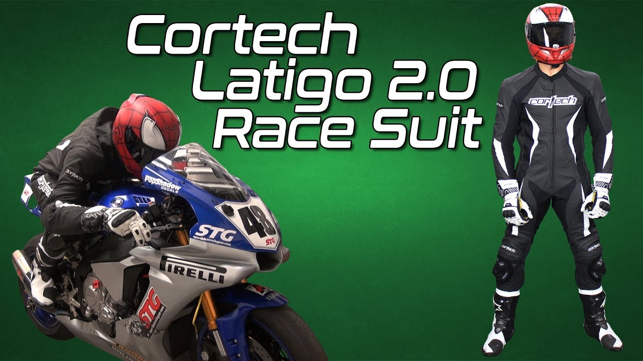 Cortech Latigo 2.0 Leather RR Race Suit