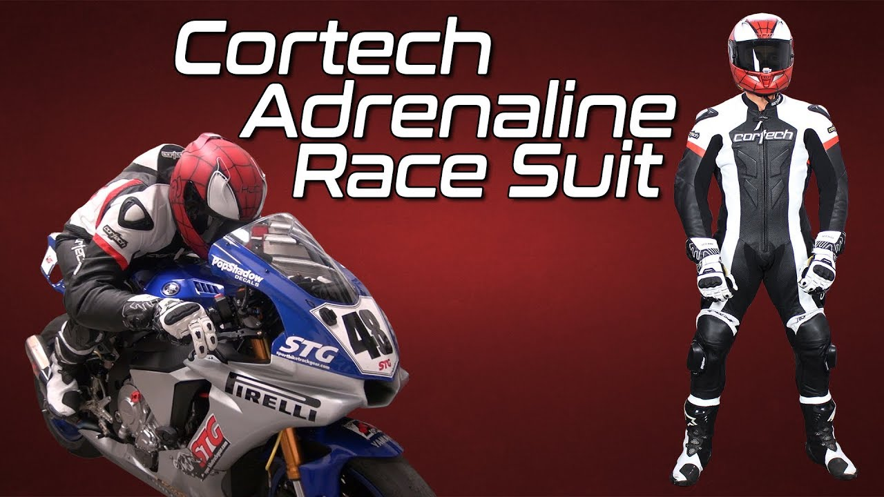 Cortech Adrenaline Leather RR One-Piece Suit