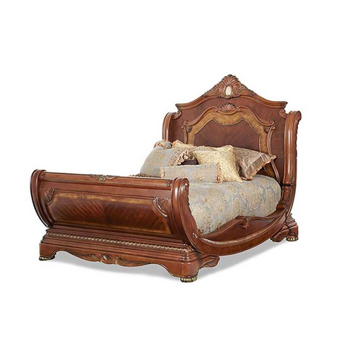 Chateau sleigh bed magnolia hall for Chateau beds