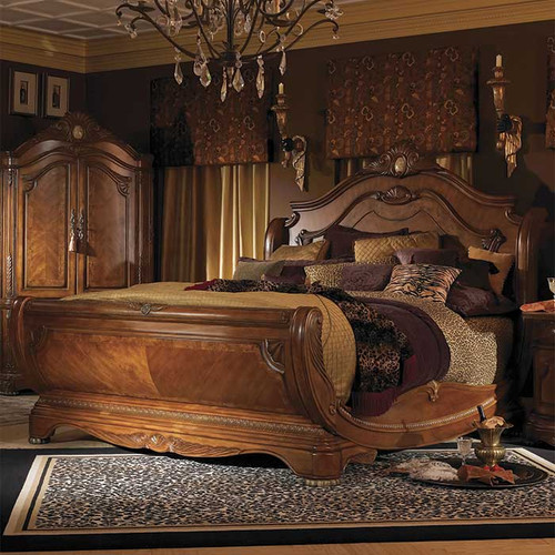 Chateau Sleigh Bed Magnolia Hall