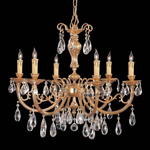 Lighting chandeliers page 1 magnolia hall calypso six light chandelier aloadofball Choice Image