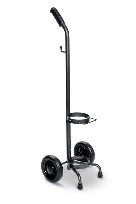 Medline HCS53006 Oxygen Cylinder Carts Single Cart