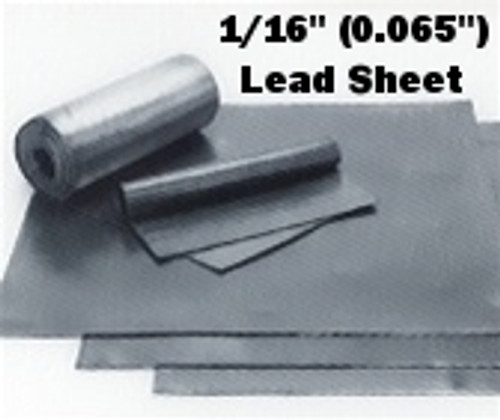 """(4#) Roof Flashing Sheet Lead 1/16"""" 30"""" x 30"""" Special"""