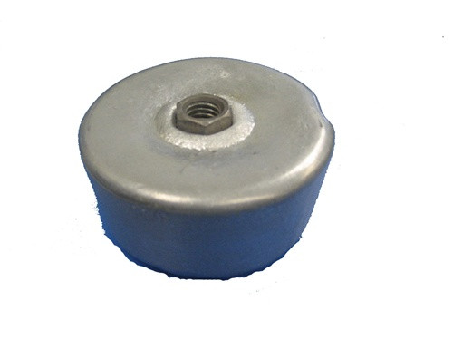 3 lb Screw On Crab/Lobster Pot Zinc Anode