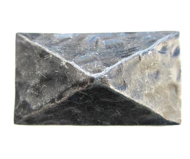 """EW715 - Rectangular Pyramid Nail/Clavos Head - Head Size: 1.8"""" x 1"""" - 6 per box"""