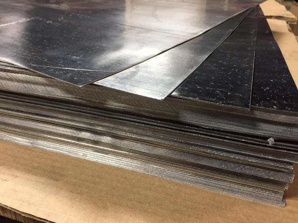 """Roof Flashing 1/16"""" Lead Sheet 30"""" x 30"""" 92 Sheets - Freight Included"""