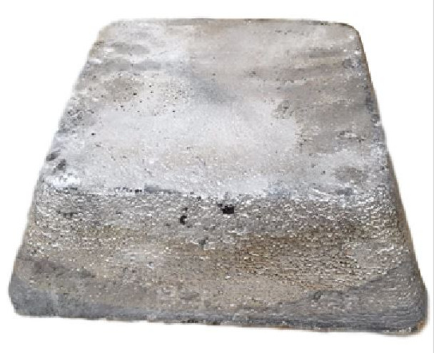 Antimony Block 50 Pounds 99.65% Minimum Pure