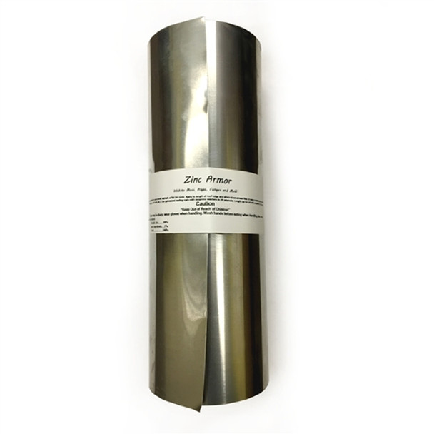 "ZincArmor 12"" Zinc Strip 50 feet Prevent Algae,Moss,Fungus & Mildew"
