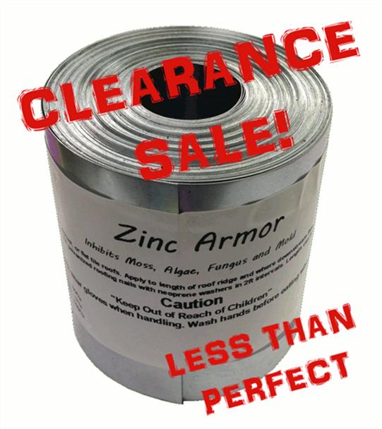 """Discounted ZincArmor 3"""" Zinc Strip 3-4 pcs that total  about 50 ft Prevent Algae, + /-  3"""""""